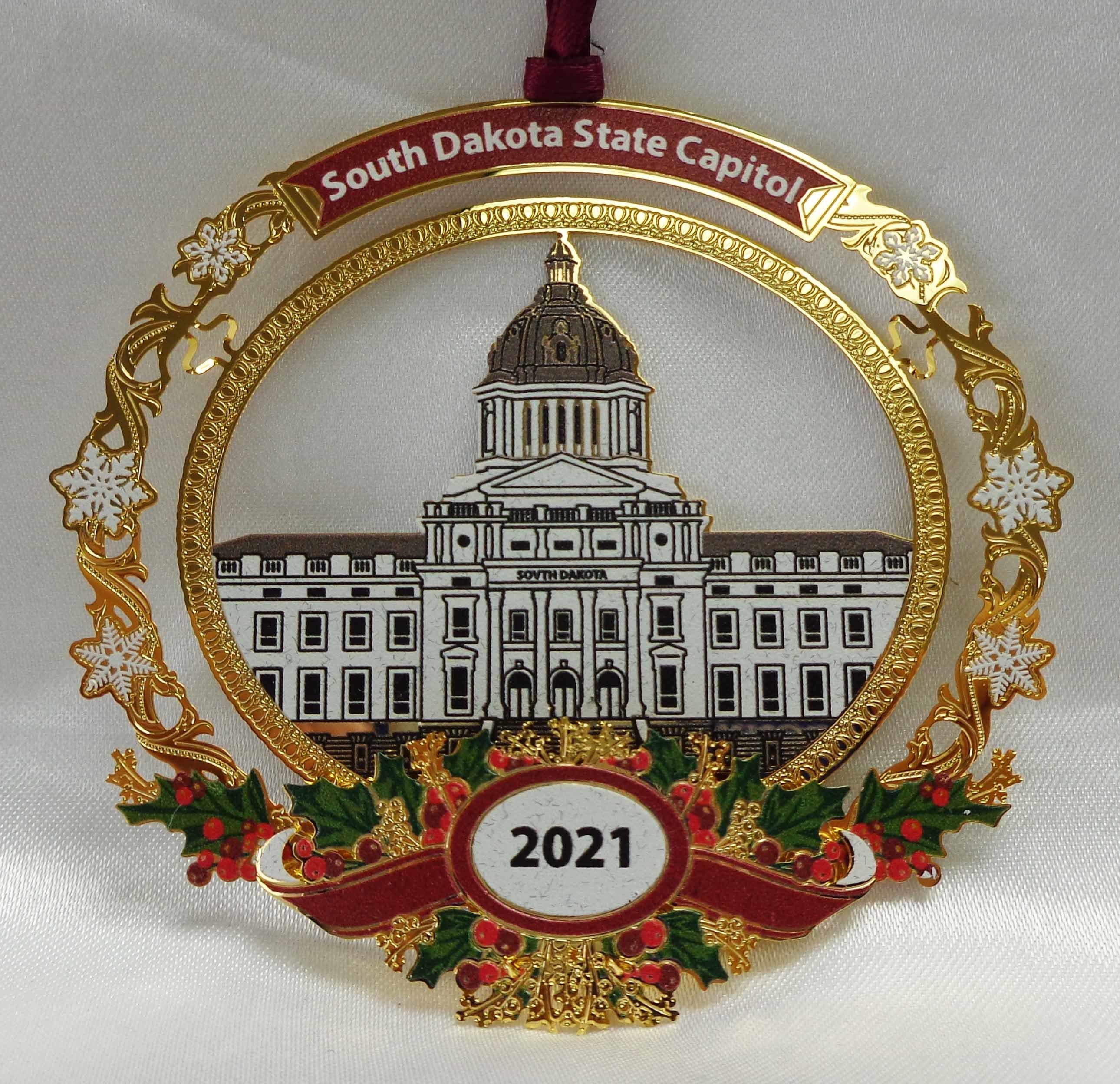 2021- 7th Annual State Capitol Collectible Ornament
