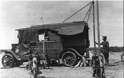 1918: Radio Intelligence Service, Mexican border, was established.