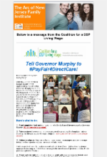 6.11.18 - DSP Coalition Action Alert: Tell Governor Murphy to #PayFair4DirectCare!