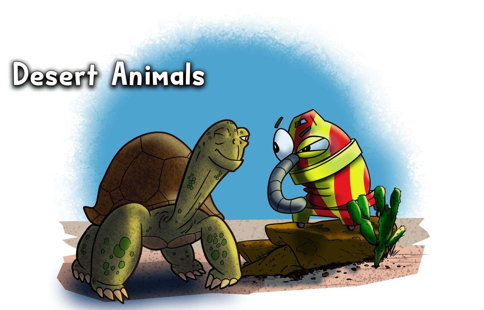 October 13th, Desert Animals