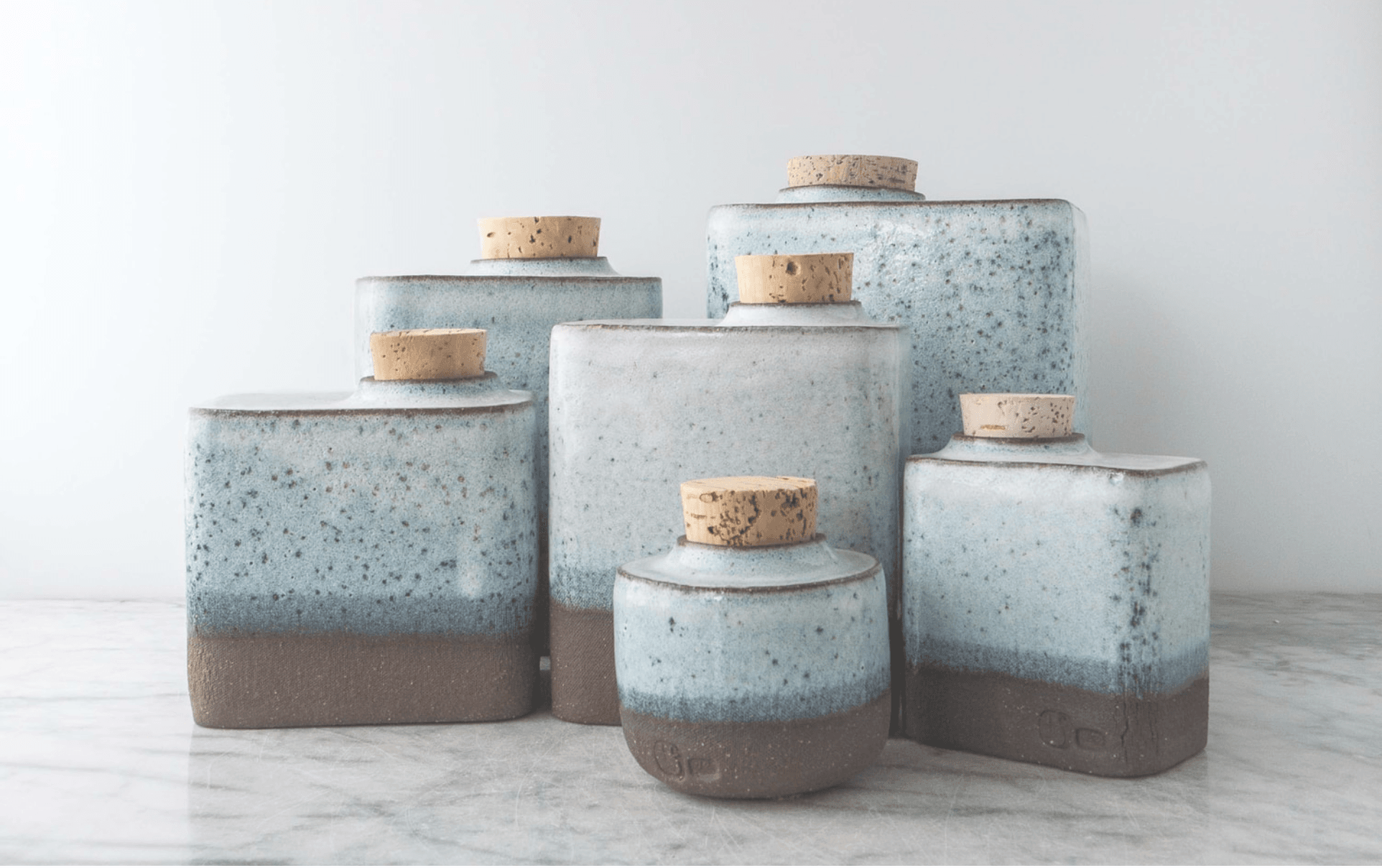 Elegant handmade resting vessels