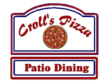 Q25335 - Design of Carved Wood or HDU Sign for Pizza Restaurant with Outdoor Dining, Whole Pizza