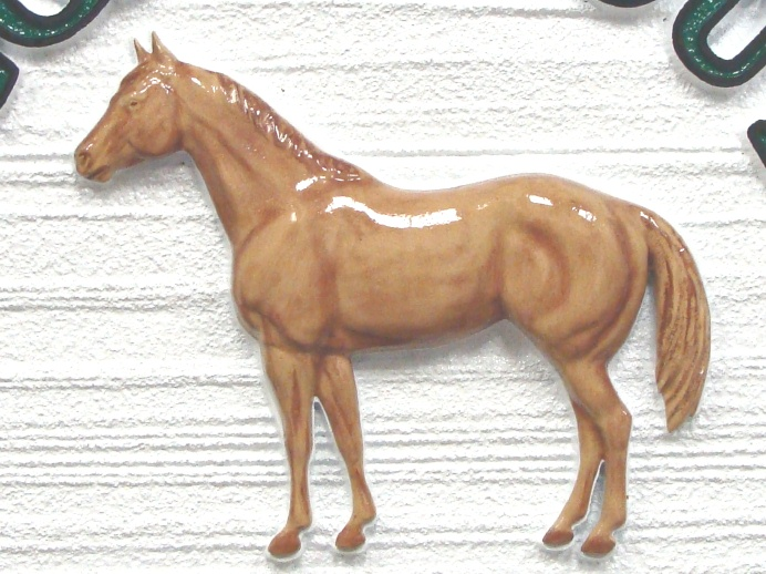 M5452 - 3D Carved Quarterhorse Applique