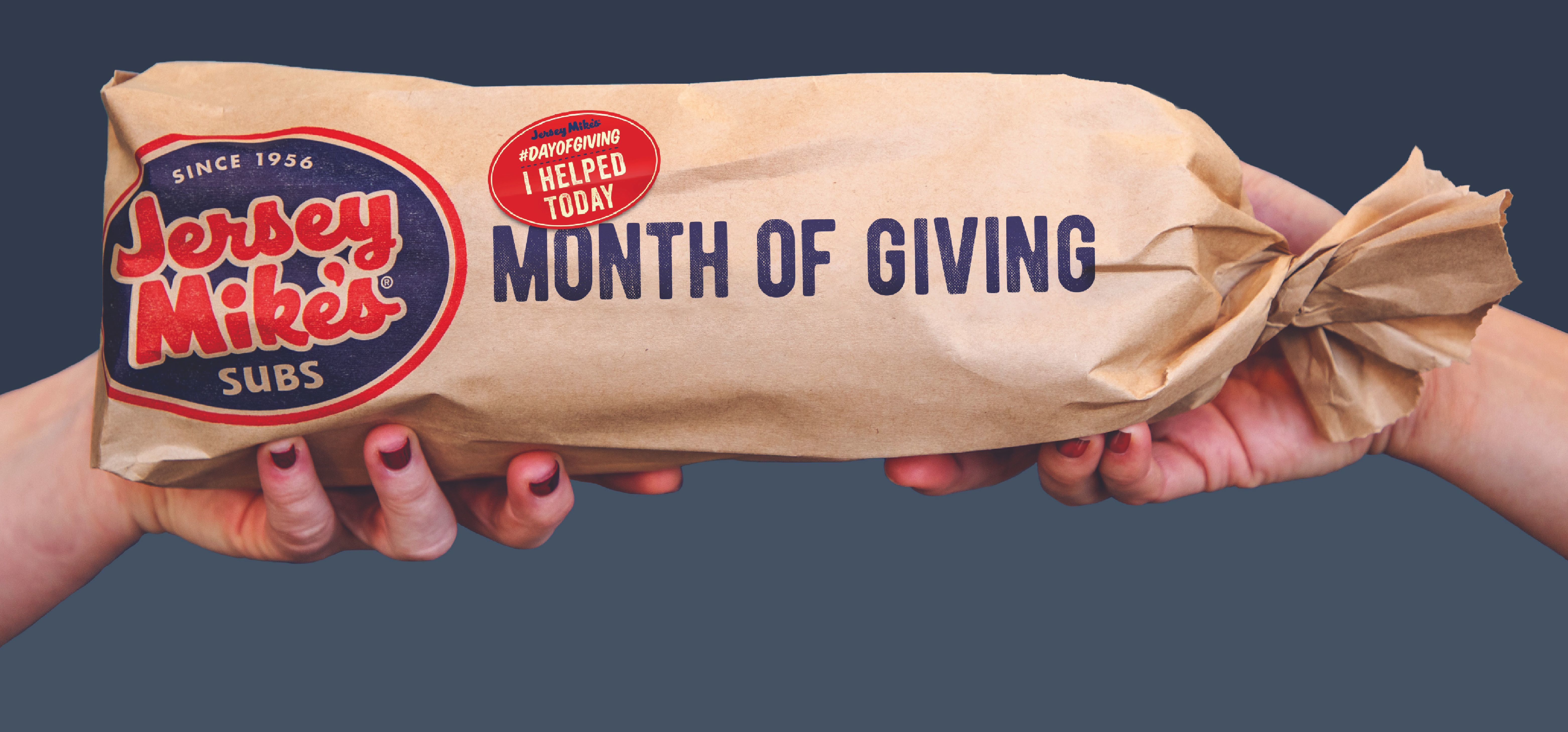 Eat a Sub. Make a Difference.