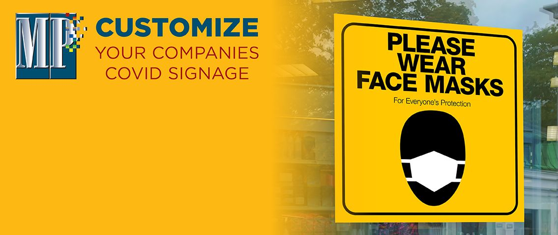 CUSTOMIZE your Company's COVID-19 Signage