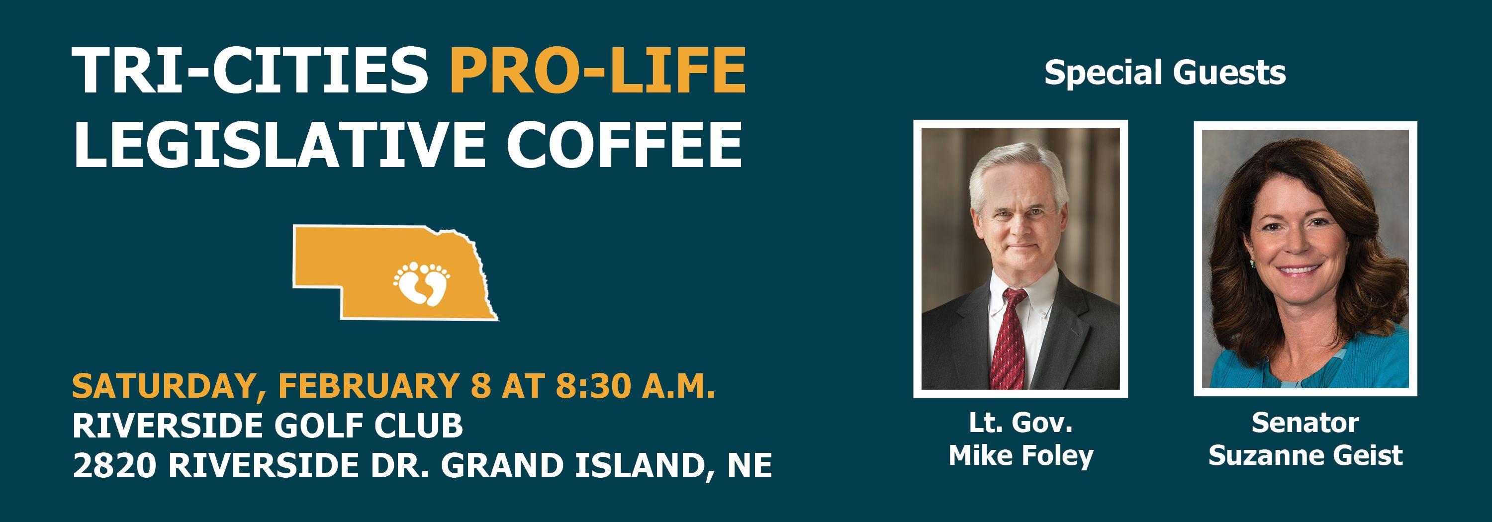 Tri-Cities Pro-Life Legislative Coffee