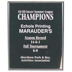 Black Marble Plaque