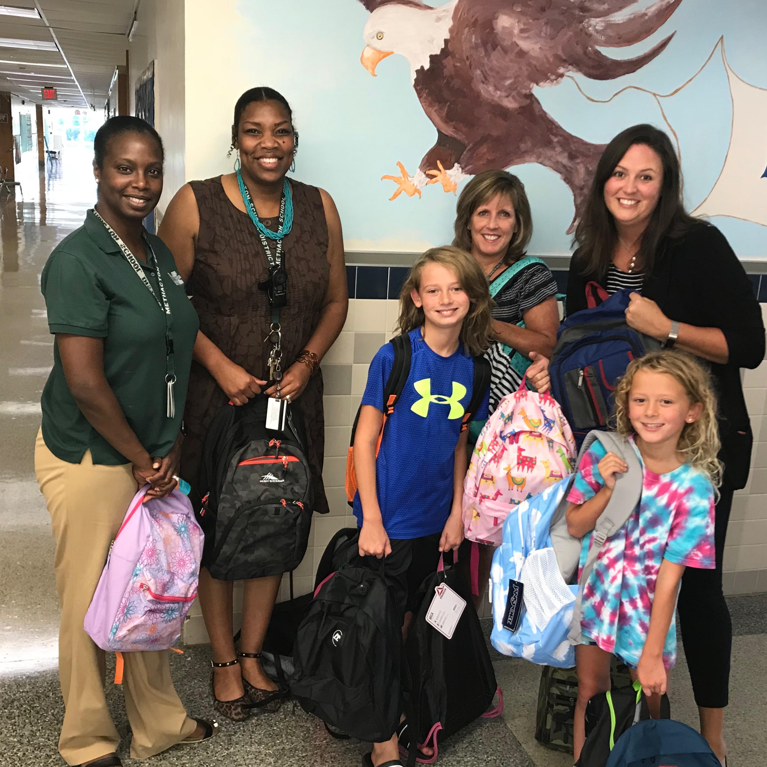 Chamber of Commerce Donates School Supply Backpacks