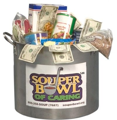 Souper Bowl of Caring is 2/5/17