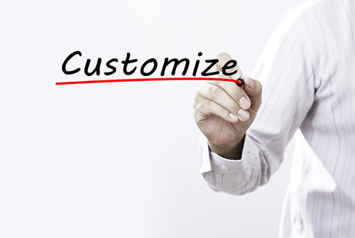 Customized Solutions are necessary for every customer