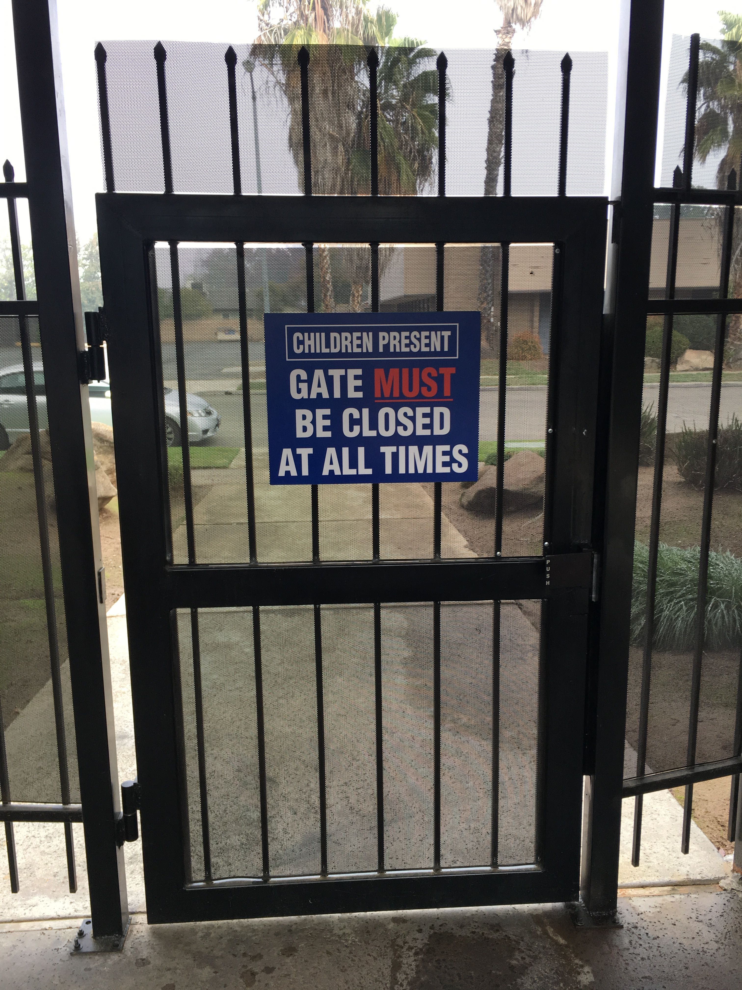 CYS Gate Sign