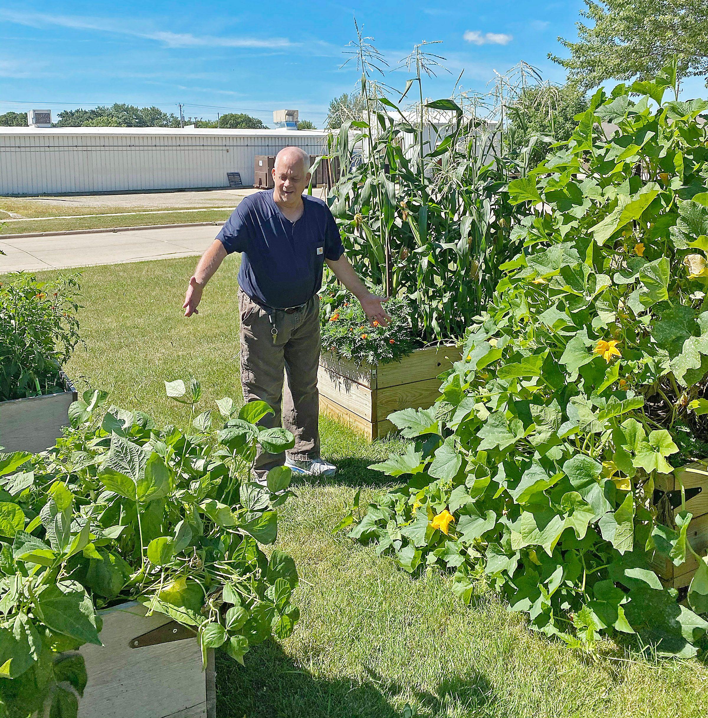 Growing Good: John's love of gardening reaps many tasty returns