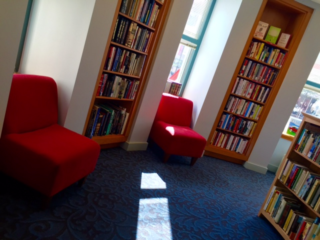 The Red Chair Bookshop is now open Saturdays!