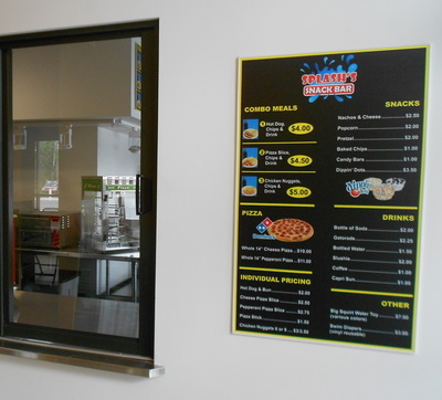Quick Look Menu Board
