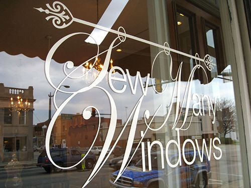 Sew Many Windows