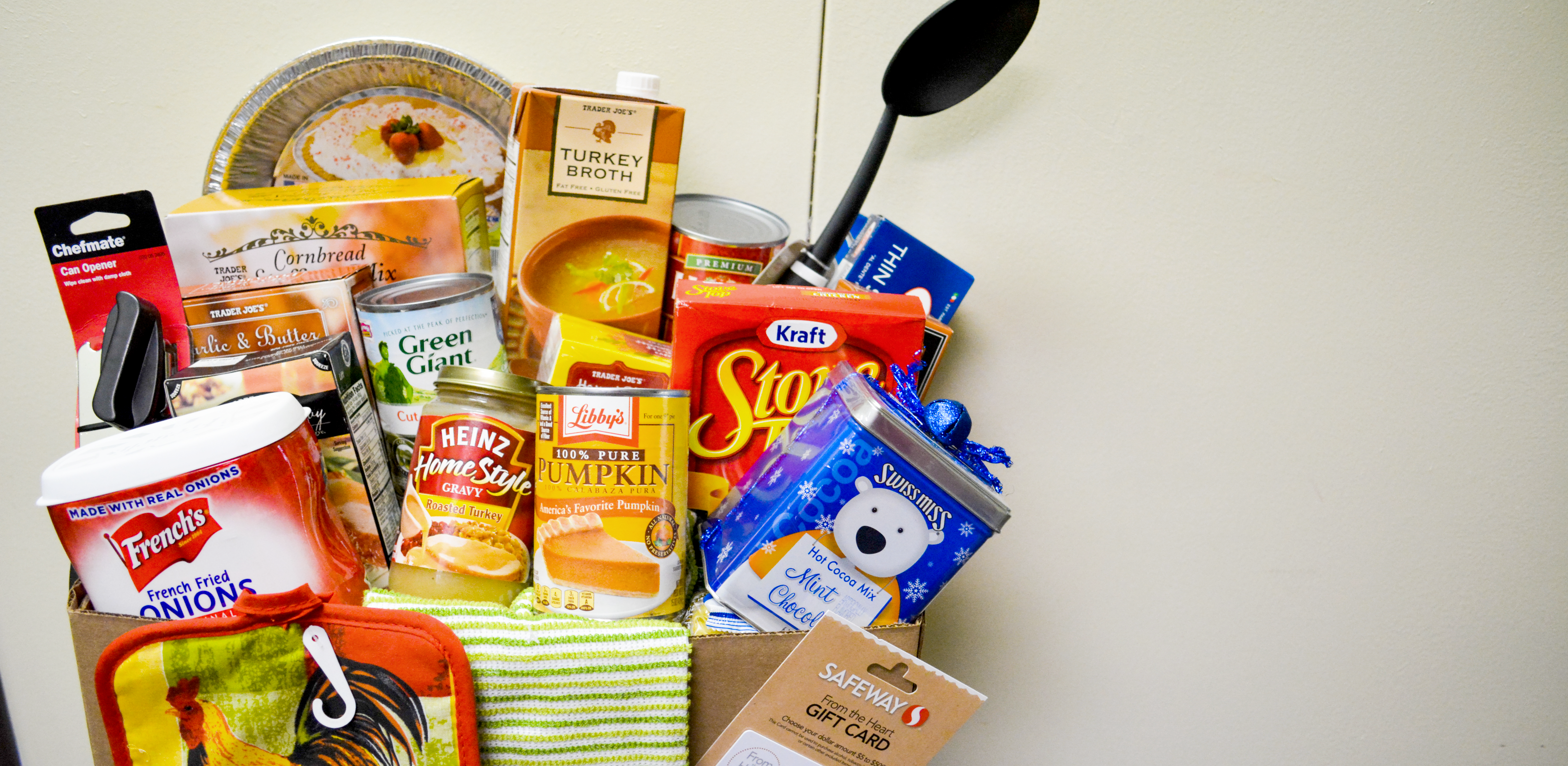 Join our Thanksgiving Food Drive