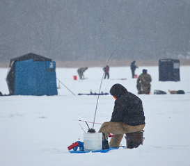 Go Ice Fishing