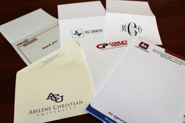 Whether you're in need of personal or professional stationery, Conley Printing has you covered!