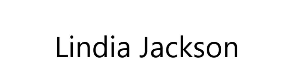 Lindia Jackson