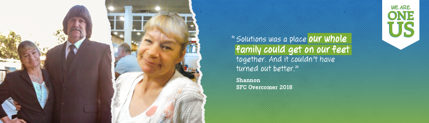 A Defining Chapter: How Shannon and Her Family Stuck Together at Solutions