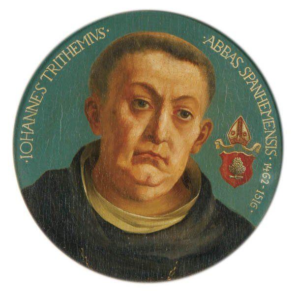 1462: Birthday of Johannes Trithemius