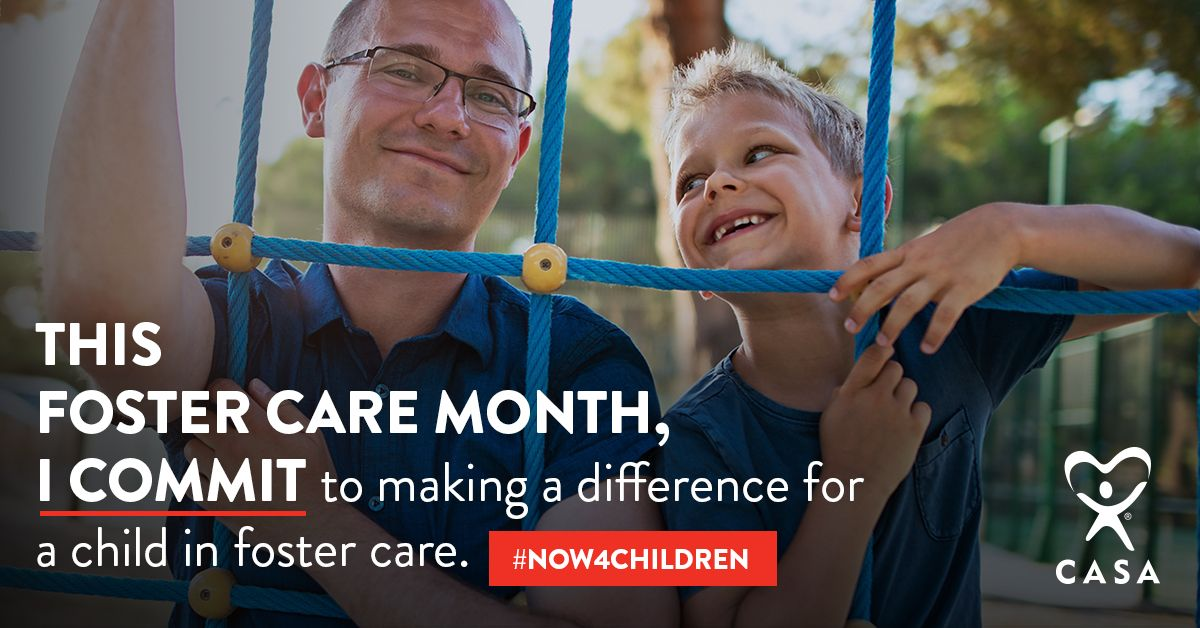 May is National Foster Care Month