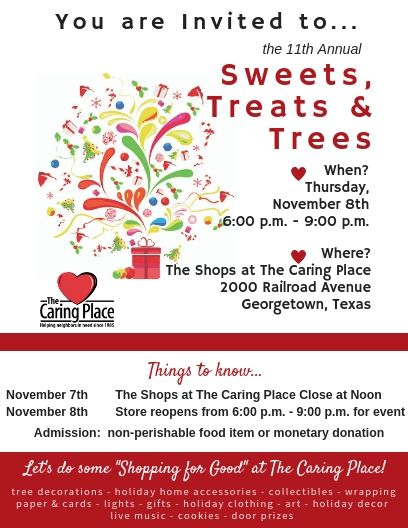 Sweets, Treats & Trees is More Than Shopping!