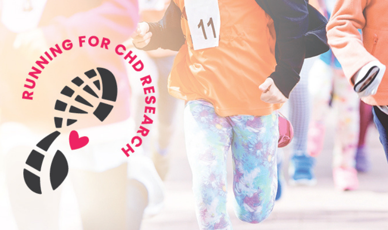 #RunForCHDResearch with The Children's Heart Foundation