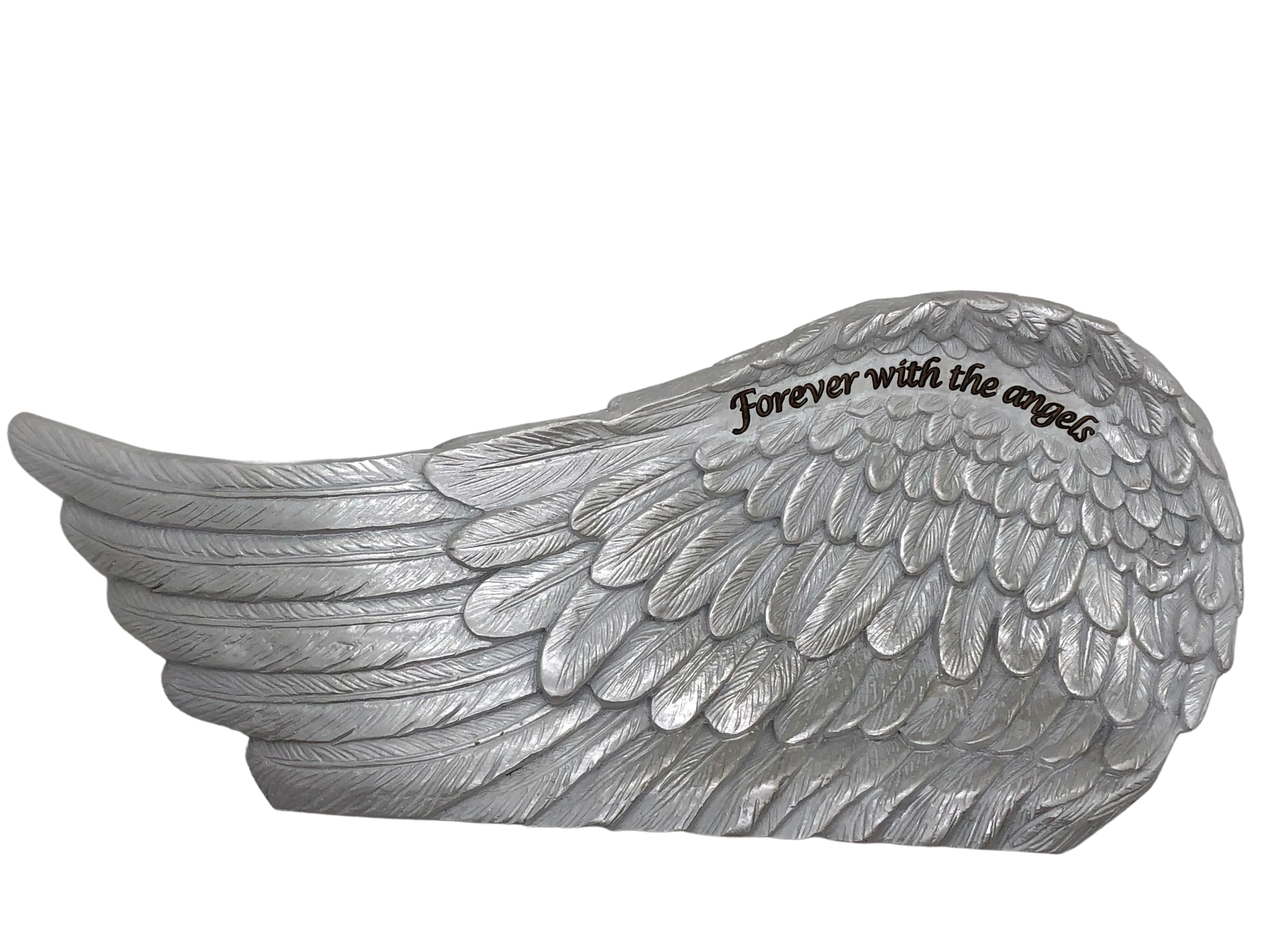 Pearl Finished Angel Wing ~ Forever with the angels