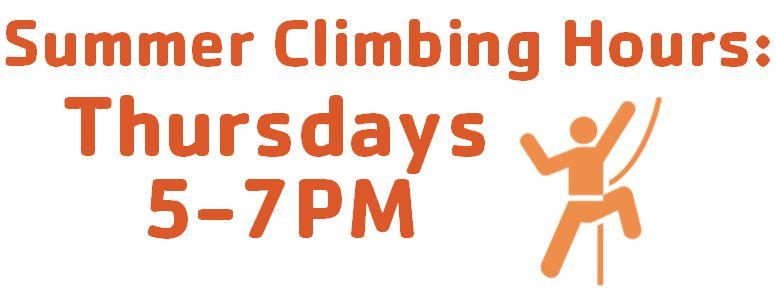 Summer Climbing Hours
