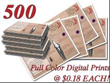 High Quality Full Color Digital Prints