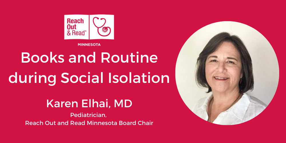 Books and Routine during Social Isolation: Interview with Dr. Karen Elhai, Board Chair