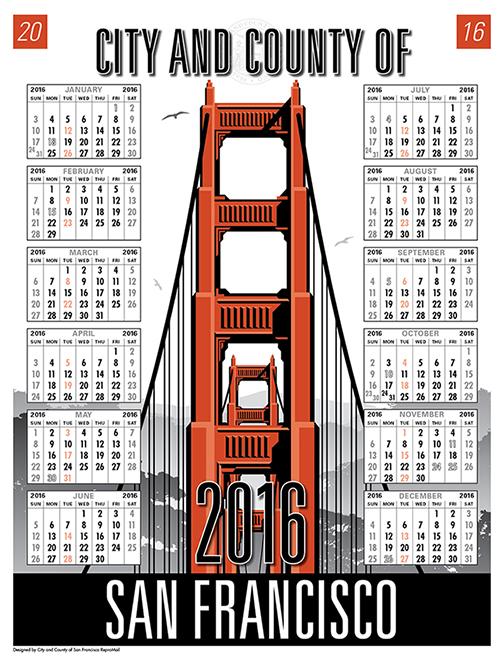 CCSF 2016 Calendar
