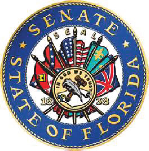 W32114 - Great Seal of the Florida Senate, Full Color