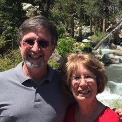 Greg & Barbara Simpson, monthly donors