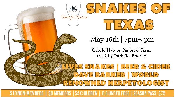 "CNC: Thirst for Nature ""Snakes of Texas"""