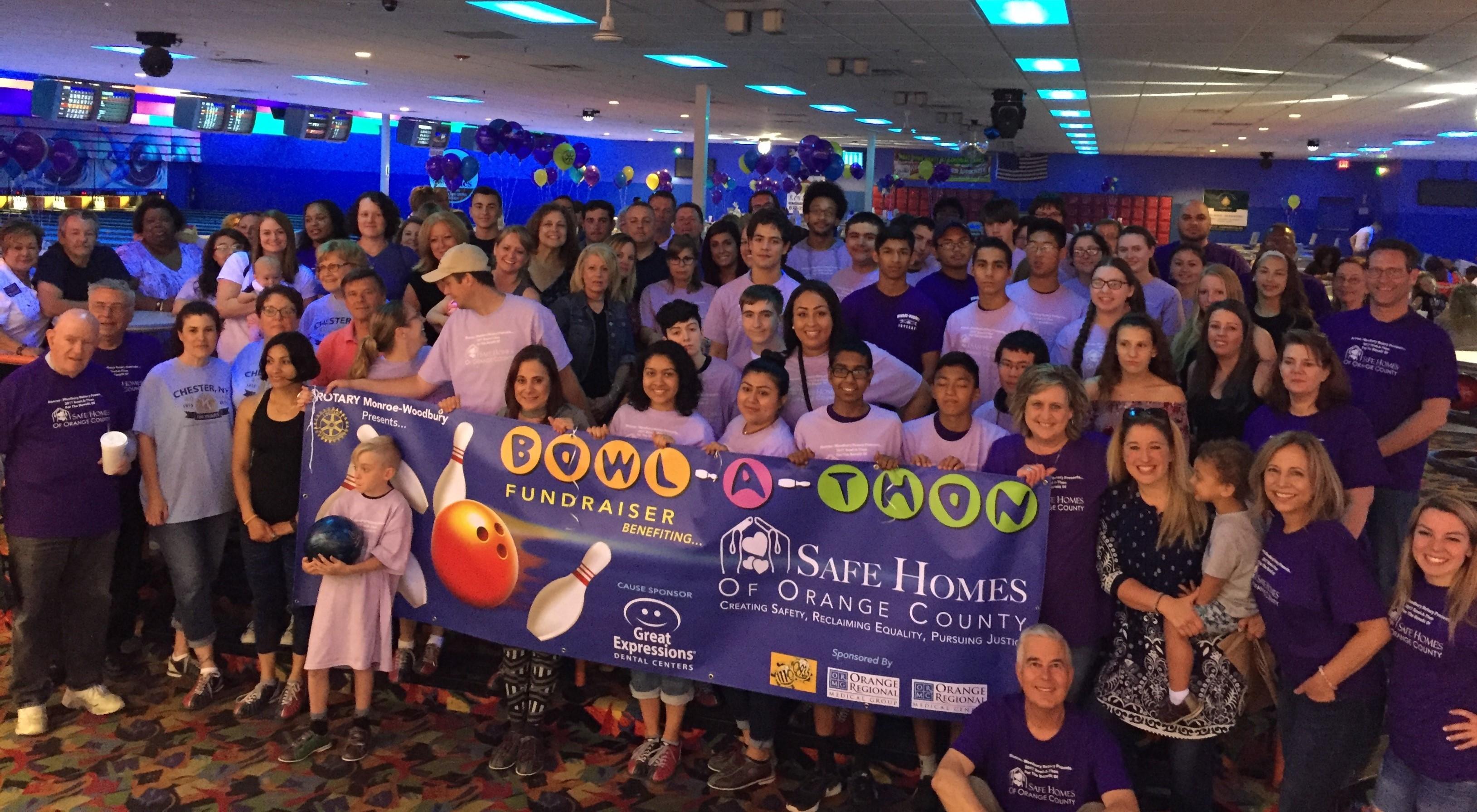 Third Annual Monroe-Woodbury Rotary Club Bowl-a-Thon