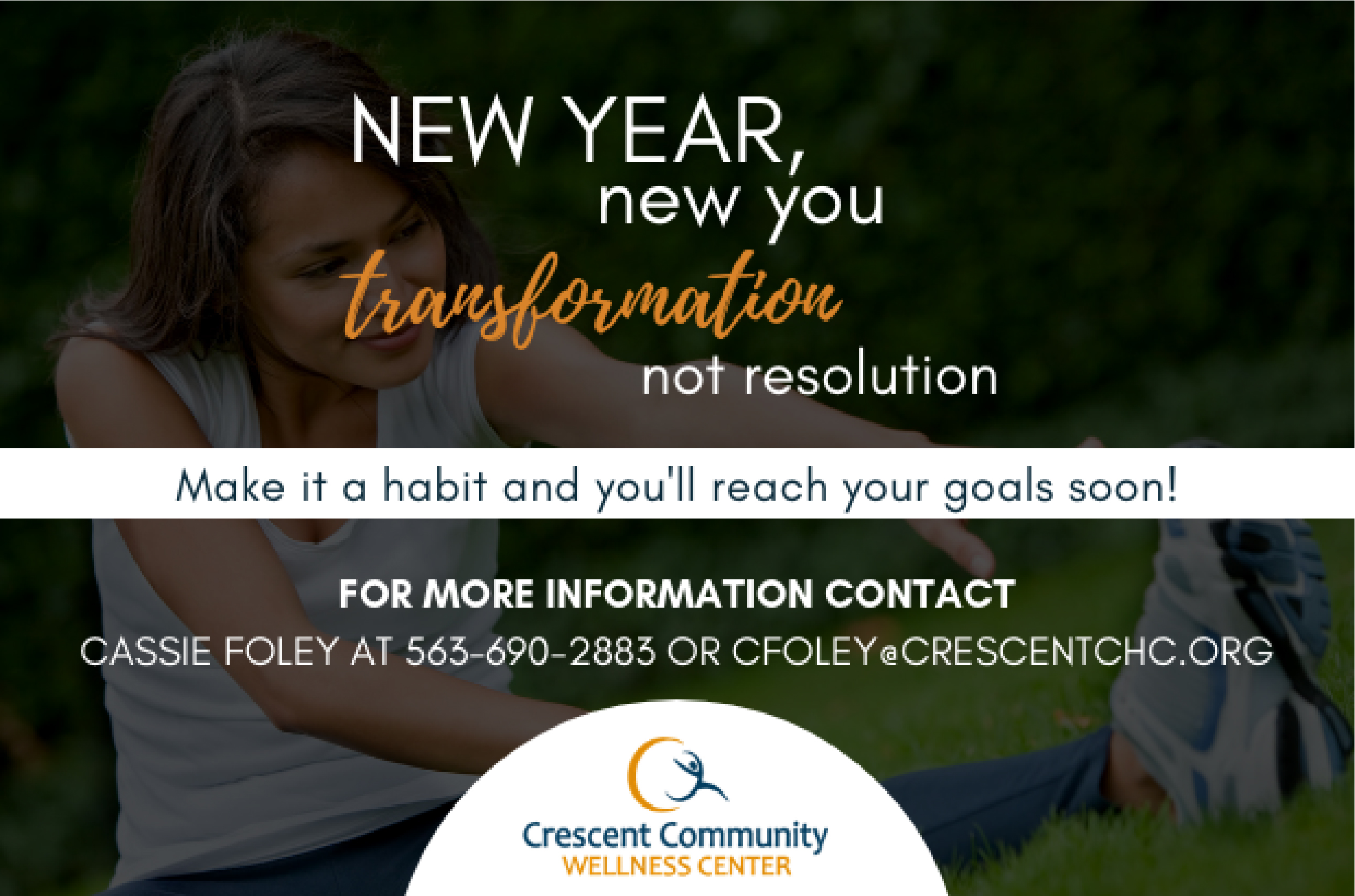 Begin your health and wellness transformation with Crescent!