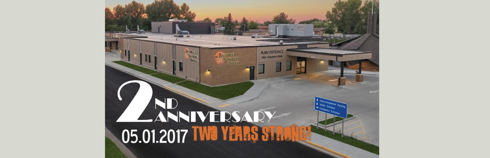 2-year facility anniversary