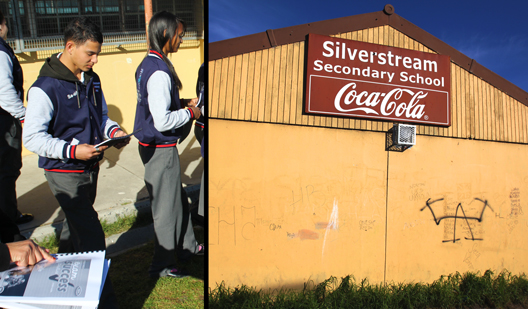 Silverstream High School Book Sponsorship 2013