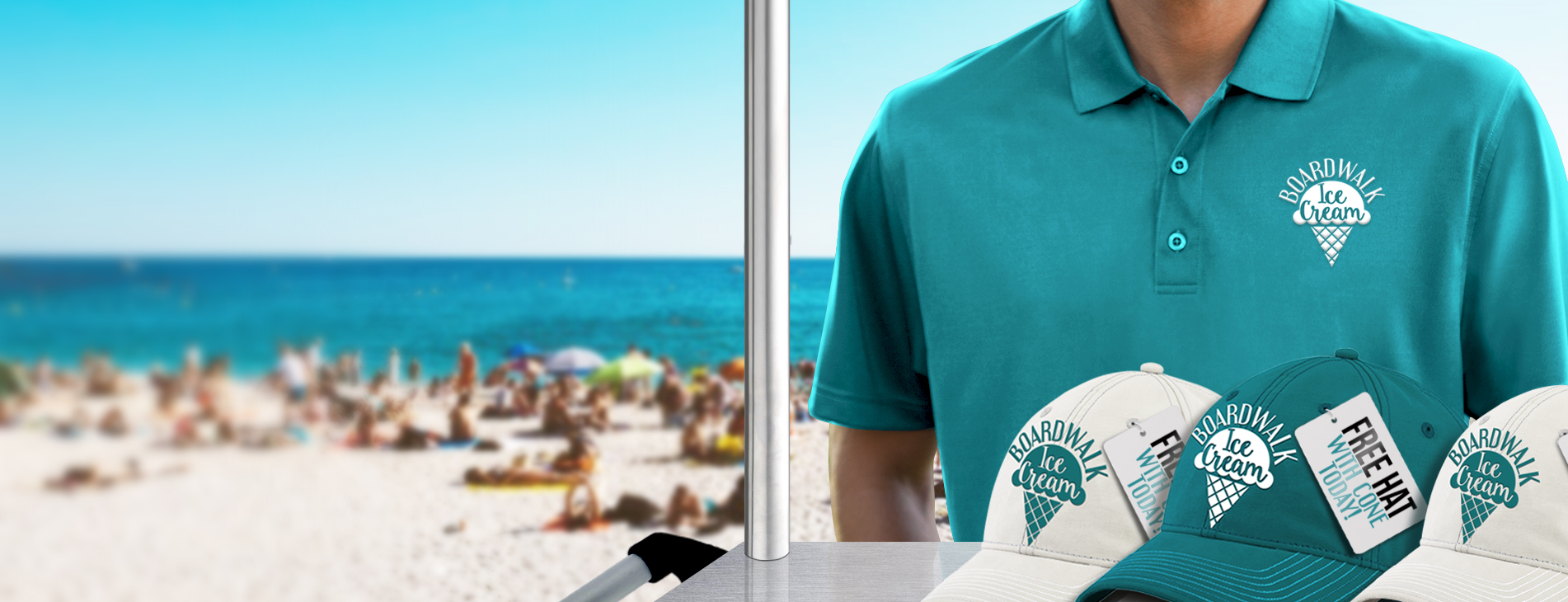 Stay cool with Branded Apparel!