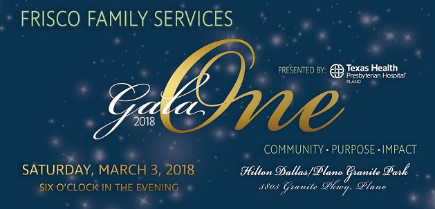 Frisco Family Services : News & Events : Annual Gala : Gala 2018