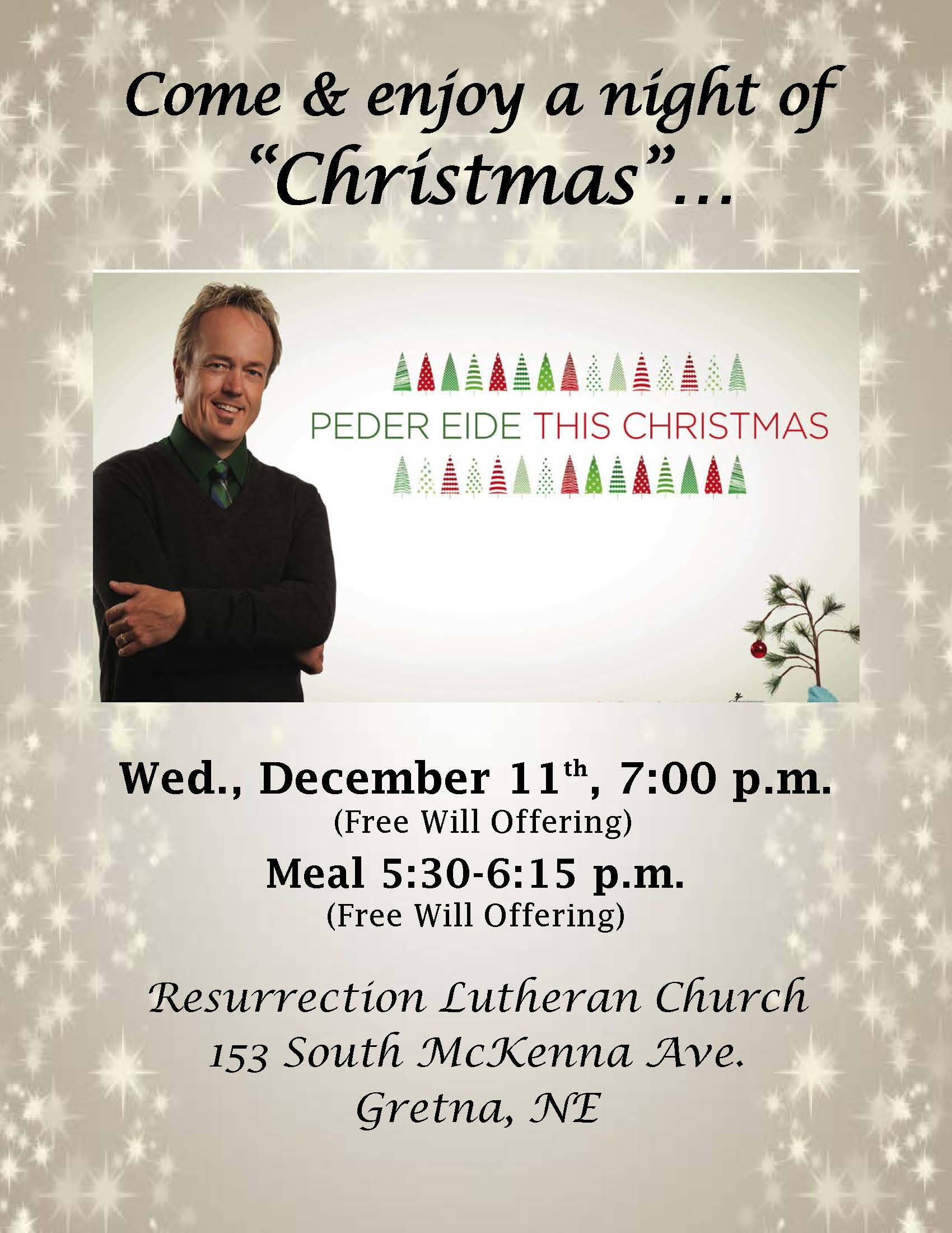 Peder Eide This Christmas Concert