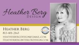 BUSINESS CARD DESIGN & PRINTING - Heather Berg Design