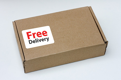 free delivery on every local order