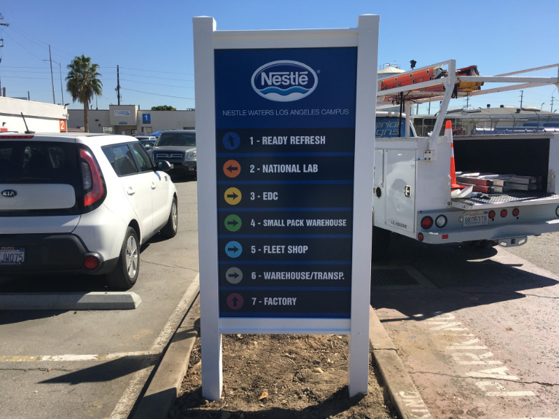 Wayfinding Signs | Directional Signs | Los Angeles CA