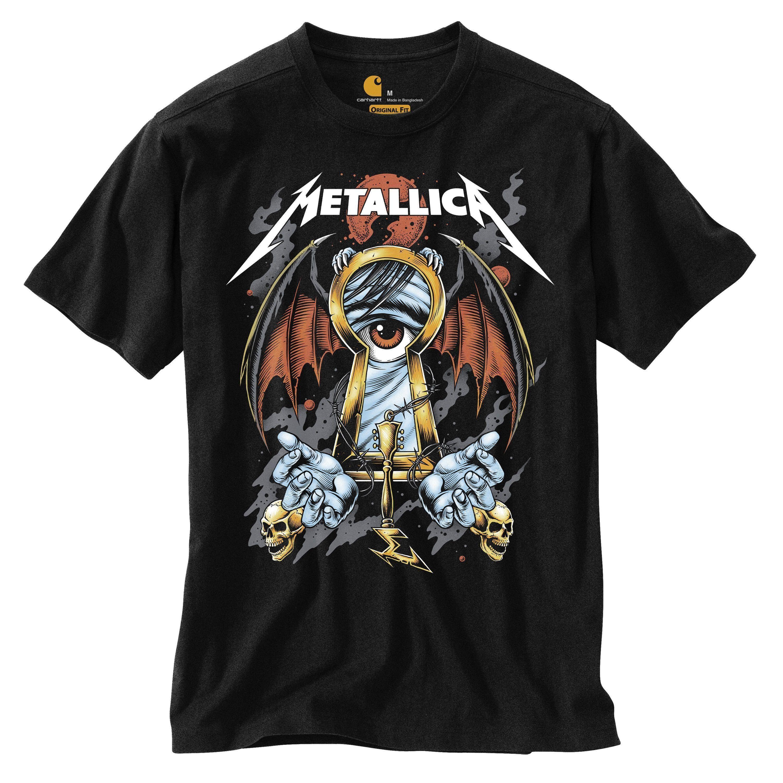 Carhartt x Metallica Month of Giving 2021 T-Shirt