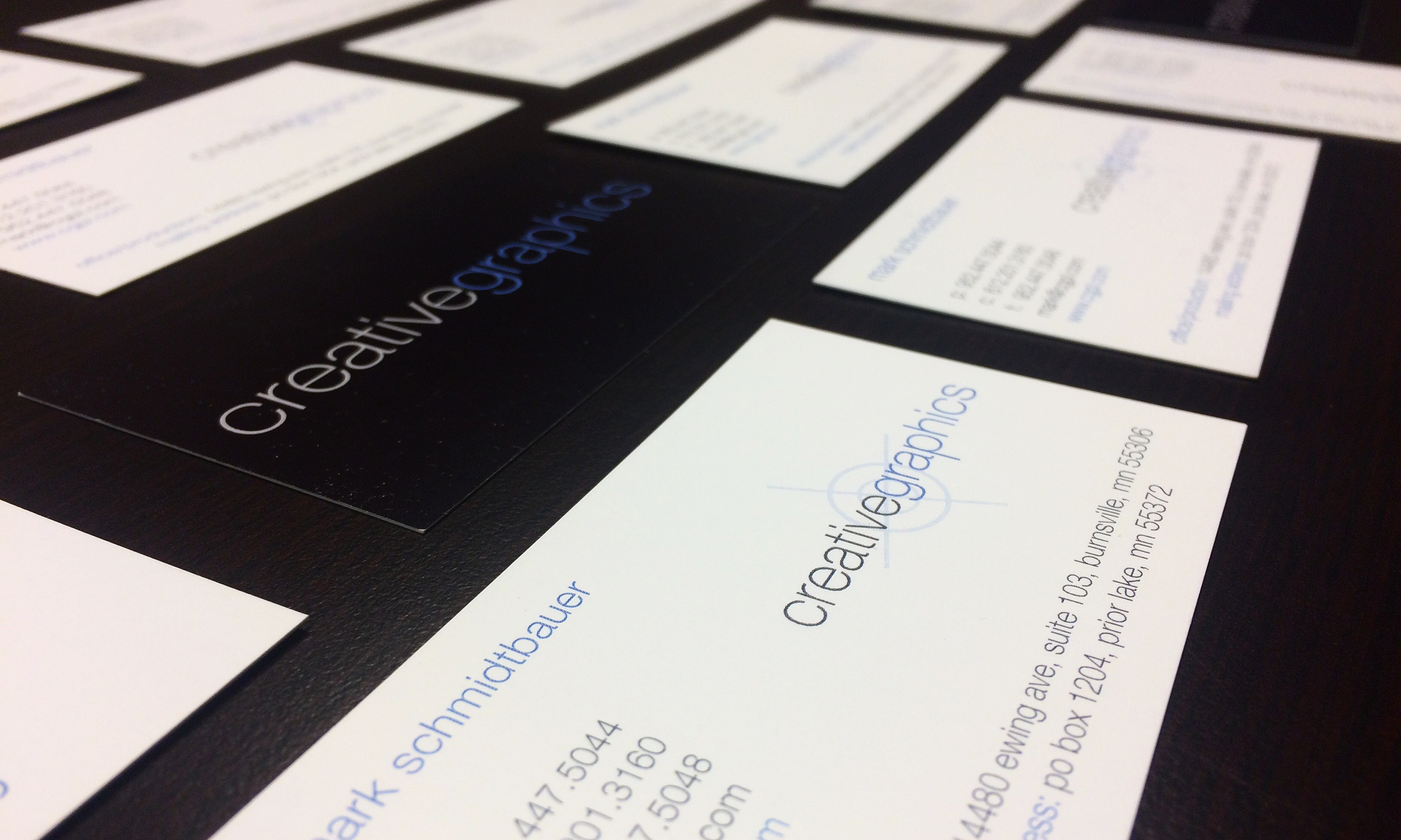 Business Card Design and Printing | Creative Graphics