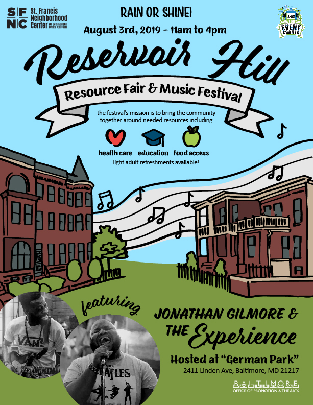 Reservoir Hill Resource & Music Festival 2019