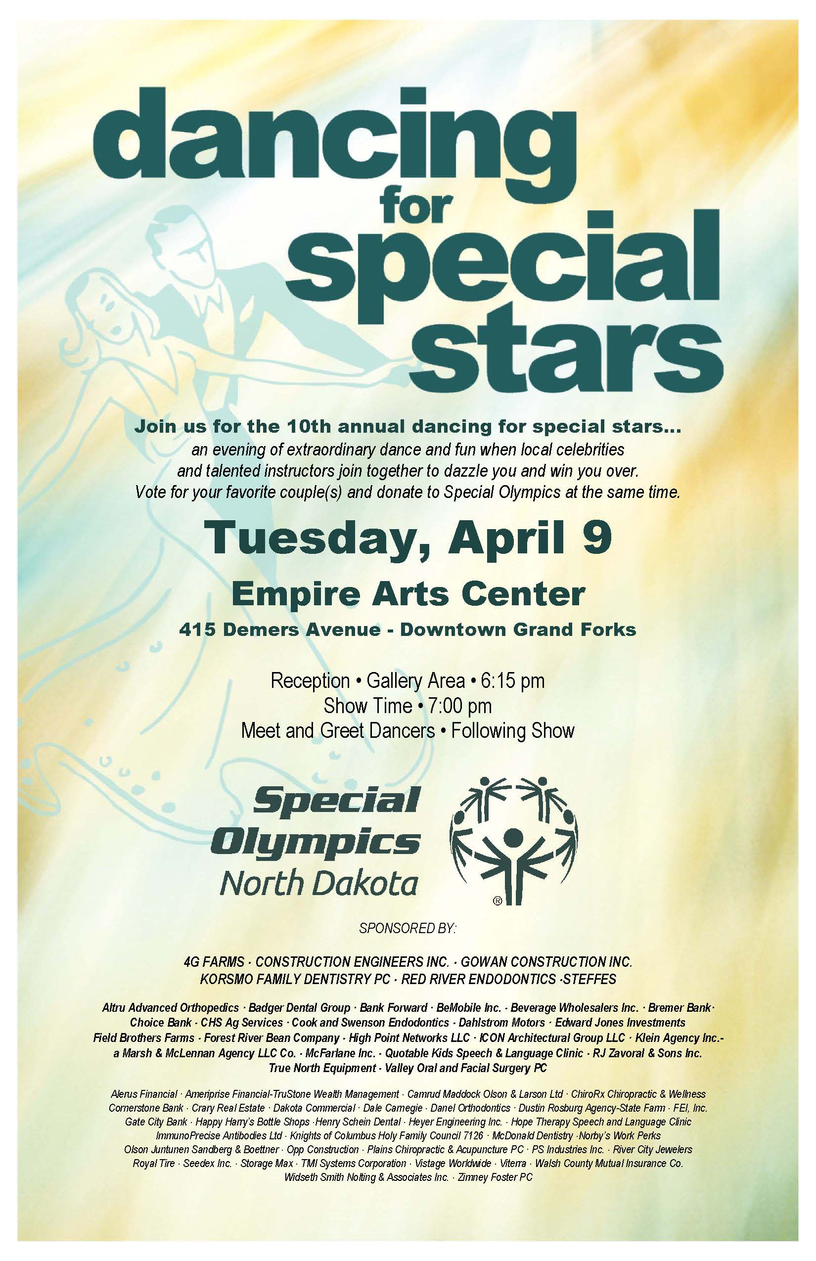 This is a graphic of Invaluable Special Olympics Poster